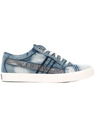 Diesel Denim Low Top Sneakers Blue