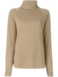 Michael Michael Kors Turtleneck Sweater Nude And Neutrals