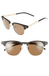 Polaroid Women's 51Mm Polarized Cat Eye Sunglasses Matte Havana