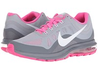 Nike Air Max Dynasty 2 Wolf Grey Cool Grey Pink Balst White Women's Running Shoes Gray