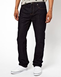Bellfield Slim Fit Jeans In Indigo Blue