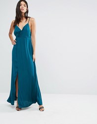 The Jetset Diaries Imperial Maxi Dress Deep Emerald Green