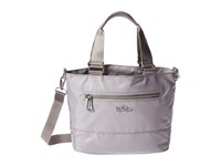 Kipling Adelina Slate Grey Brightside Mix Satchel Handbags Gray