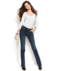 Inc International Concepts Bootcut Jeans Percy Wash