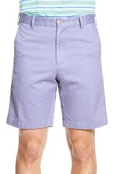 Men's Big And Tall Peter Millar 'Winston' Washed Twill Flat Front Shorts Mirage