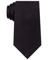 Sean John Unsolid Solid Tie Black