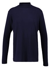 Mbym Lucil Long Sleeved Top Night Sky Dark Blue