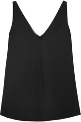 Stella Mccartney Stretch Cady Top Black