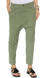 Citizens Of Humanity Premium Vintage Surplus Sadie Utility Pants Combat Green