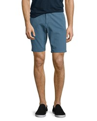 Joe's Jeans Brixton Canvas Trouser Shorts Blue Haze