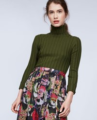 Aspesi Wool Blend Sweater Olive