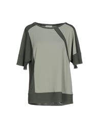 Baroni Blouses Military Green