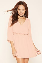 Forever 21 Chiffon Peasant Dress