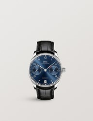 Iwc Iw500710 Portugeiser Stainless Steel Chronograph Watch Blue