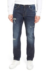 Vigoss Men's Slim Straight Leg Jeans Dark Wash