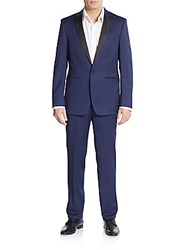 Calvin Klein Extreme Slim Fit Solid Peak Lapel Suit
