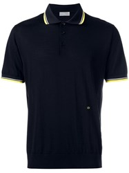 Christian Dior Homme Gathered Waist Polo Shirt Black