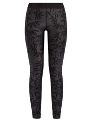 The Upside Guru Bamboo Print Performance Leggings Multi