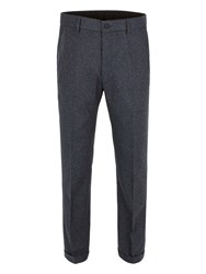 Gibson Donegal Tailored Fit Suit Trousers Teal