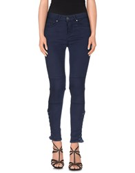 Hotel Particulier Denim Denim Trousers Women Blue