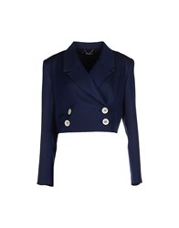 Pedro Del Hierro Suits And Jackets Blazers Women Dark Blue