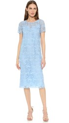 Nina Ricci Lace Dress Sky Blue
