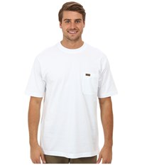 Pendleton S S Deschutes Pocket Shirt White Men's T Shirt
