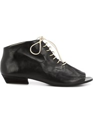 Marsa Ll Open Toe Ankle Boots Black