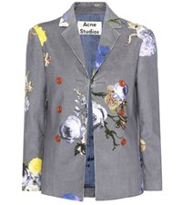 Acne Studios Cotton Jacket Multicoloured