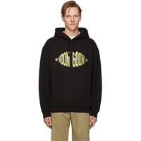 Noon Goons Black And Yellow Team Logo Hoodie