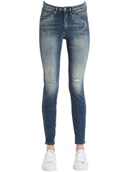 Calvin Klein Jeans Destructed Sculpted Skinny Cotton