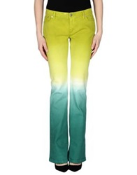 John Richmond Denim Pants Green