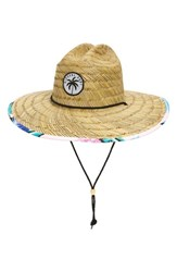 Rip Curl Ophelia Straw Sun Hat Beige Natural