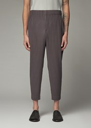 Homme Plisse Issey Miyake 'S January Pant In Mud Brown Size 1 100 Polyester