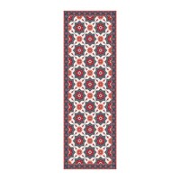 Hibernica Collection Ceramic Vinyl Floor Mat Hib18252 Red