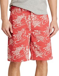 Polo Ralph Lauren Relaxed Fit Cotton Chino Shorts Koi Fish