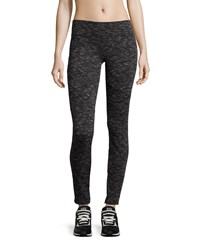 Marc New York Marc Ny Performance Space Dyed Ponte Moto Leggings Black