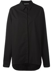 Alberta Ferretti Flared Shirt Women Cotton 42 Black