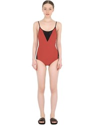 Frida Querida Reversible Lycra One Piece Swimsuit