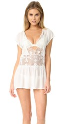 For Love And Lemons St Kitts Mini Dress White