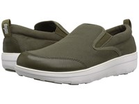 Fitflop Loaff Skate Camouflage Green Slip On Shoes Multi