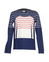 Band Of Outsiders Topwear T Shirts Men Blue