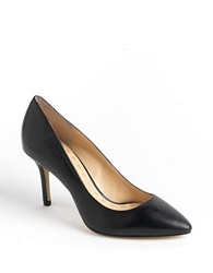Enzo Angiolini Call Me Leather Pumps Black