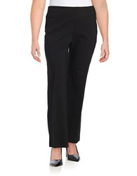 Lord And Taylor Plus Wide Leg Pants Black