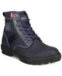 Levi's Men's Richmond Denim Boots Men's Shoes Navy