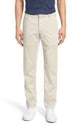 Zachary Prell Men's Aster Straight Leg Trousers Stone
