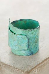 Anthropologie Turquoise Swirl Ring