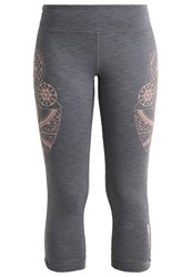 Roxy Hampi Tights Charcoal Heather Grey
