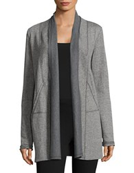 Marc New York Open Front Active Cardigan Grey