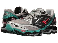 Mizuno Wave Prophecy 6 Silver Turquoise Diva Pink Women's Running Shoes